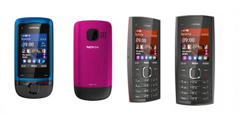 Nokia, C2-05, X2-05
