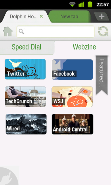 Dolphin Browser 7.0, Android