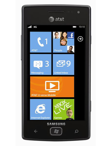 Samsung, Samsung Focus Flash, Windows Phone 7.5 Mango