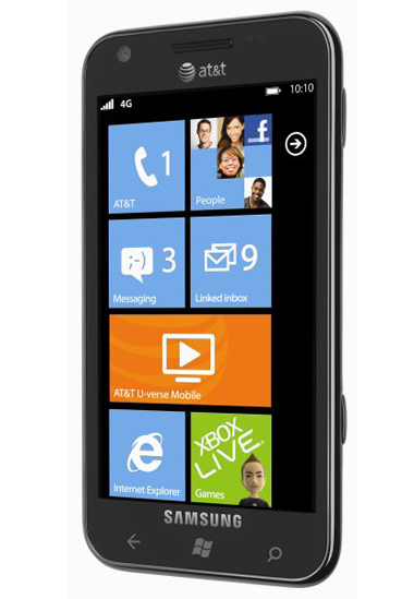 Samsung, Samsung Focus S,  Windows Phone 7.5 Mango