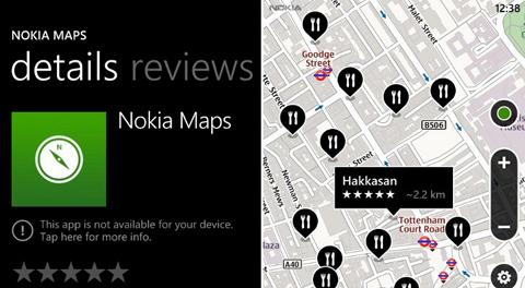 Nokia, Microsoft, Windows Phone, Nokia Maps
