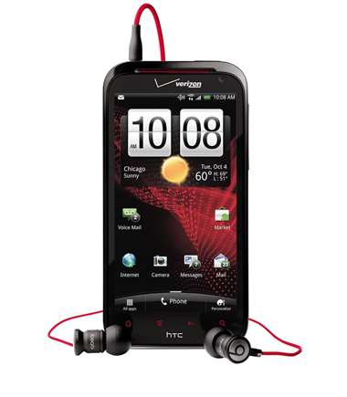 HTC, HTC Rezound, Beats Audio, Android