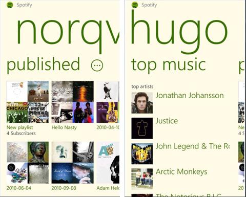 Spotify, Microsoft, Windows Phone