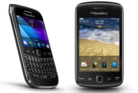 RIM, BlackBerry Bold 9790, Curve 9380