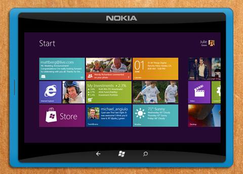 Nokia, Windows 8, tablet