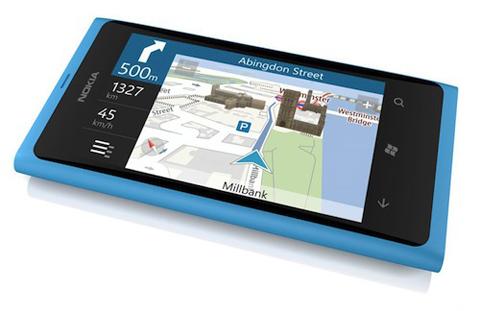 Nokia Lumia 800, nokia