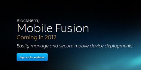 BlackBerry Mobile Fusion, RIM, Android, iOS