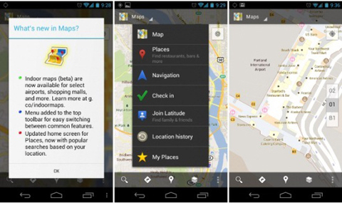 Google Maps 6.0, Android
