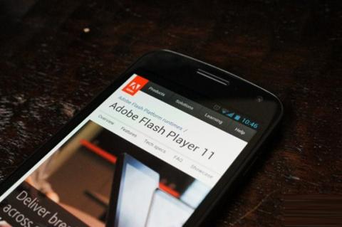 Samsung, Adobe, Flash Player 11, Galaxy Nexus