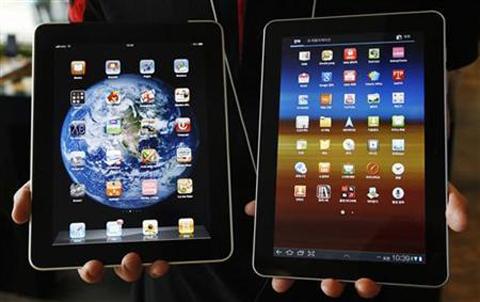 Samsung, Apple, iPad, iPhone, Galaxy Tab