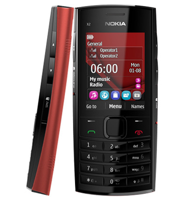Nokia X2-02, Nokia