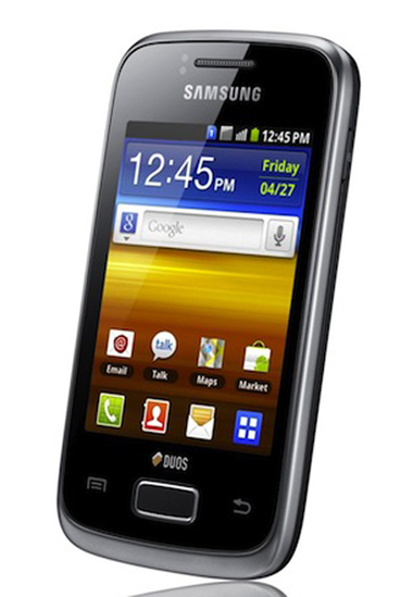 Samsung Galaxy Y Duos, Galaxy Y Pro Duo, Samsung, Android