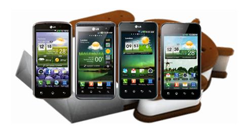 LG, Android 4.0, app-news, LG Optimus LTE, Prada LG 3, Optimus 2X, Optimus Sol, LG myTouch Q và Eclipse