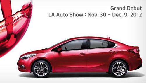 triển lãm Los Angeles, Kia Forte 2014 , kia, car-news