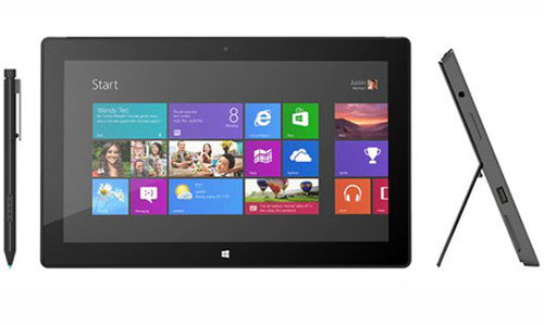 Microsoft, MTB,  Surface Pro, stylus, Type Cover, Surface RT, ARM, miniDislayPort, Touch Cover