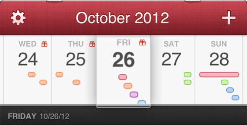 Fantastical, Mac, Flexibits, iPhone, iOS, DaysTicker, iOS Calendar, app-news