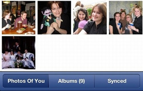 Timeline, Facebook, Apps, WiFi, Photo Sync, Google Play, Apple iTunes Store