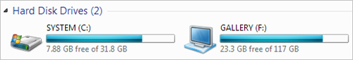 Notepad, Seven Drive Icon Changer, Select drive