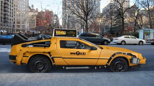 car-news, Taxi, DeLorean, Nooka, Mike Lubrano, New York