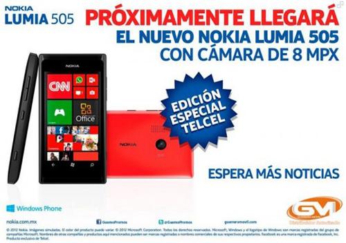 Lumia 505, Facebook, smartphone, Nokia, Windows Phone 7.8