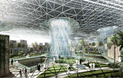 Abu Dhabi, ngay tan the, nang luong xanh, sao hoa, may tinh luong tu, ngày tận thế, năng lượng xanh, sao hỏa, máy tính lượng tử