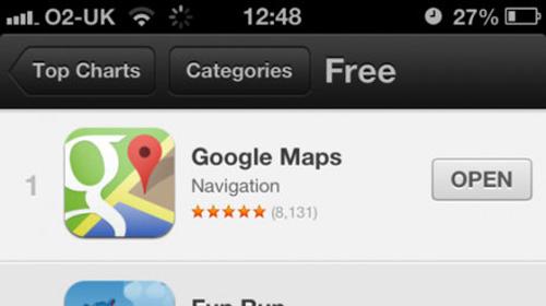 Google, App Store,  iOS, iPhone, iPod Touch, iPad Min, ipad