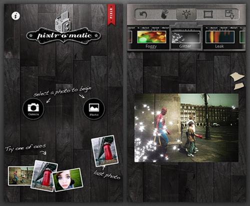 Android, Instagram, Pixlr-O-Matic  , PicsArt