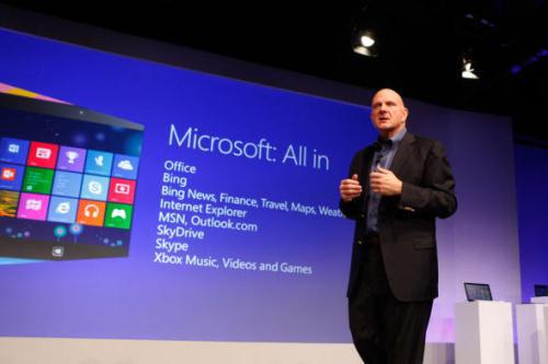 Windows 8, Microsoft, Surface, Xbox, Apple, Google