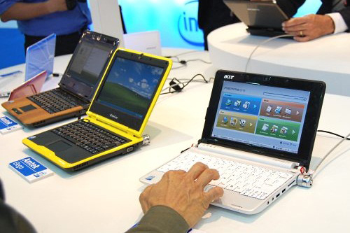 netbook, Asus,  Acer,  Windows 7, Dell, Microsoft