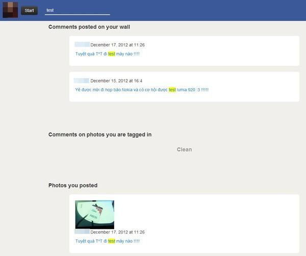 Facebook, FaceWash, Graph Search