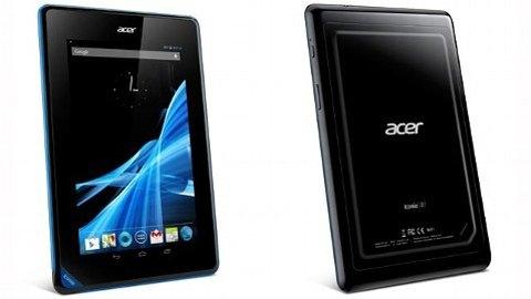 Acer, Google Nexus 7, Amazon Kindle Fire HD,  iPad Mini