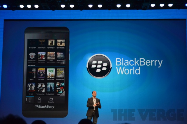 smartphone, Blackberry 10, Facebook, Skype, Twitter, RIM