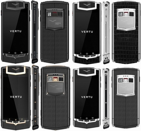 Vertu, Nokia, Symbian, Android, Red Gold Mixed Metal