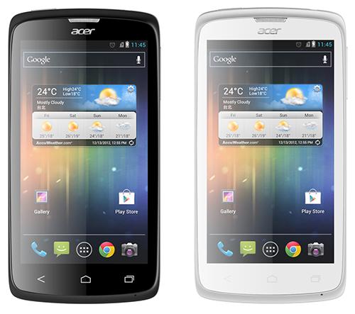 Acer Liquid C1, Intel, Android,  Atom Z2420