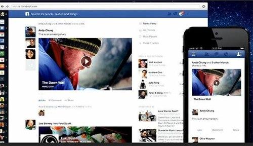 Facebook, News Feed, Web-news