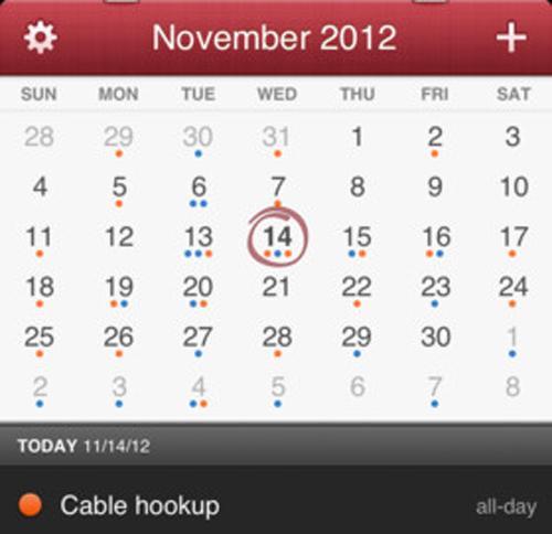 iPhone, Clear, Fantastical, Tweetbot, Mailbox, Vine, App-news