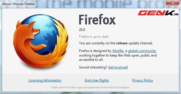 Firefox 20, Chrome, trình duyệt, OS-news