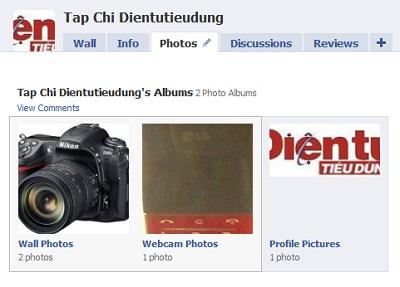 Tính năng Photos của Facebook rất thân thiện