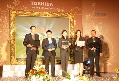 Máy tính xách tay Toshiba: 25 năm một thương hiệu