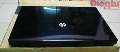 Màu đen phủ toàn thân ProBook 4410s. Ảnh: Mạnh Đào