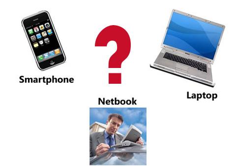 Laptop Netbook Smartphone