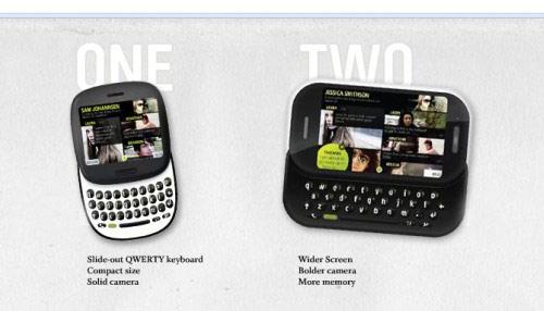 Microsoft Kin Phone One Two
