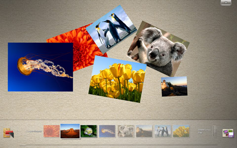 micosoft surface collage windows 7 touch pack