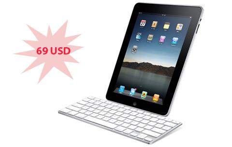 Bàn phím iPad giá hơn 1,3 triệu đồng. Ảnh: Apple