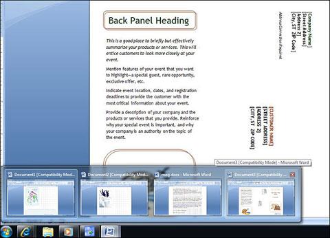 Liền kết các file giúp tiết kiệm diện tích taskbar. Ảnh: PCMag