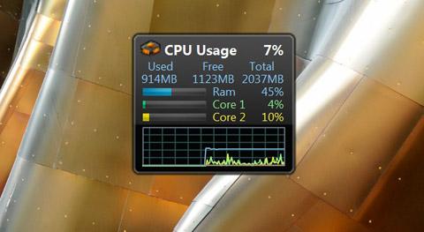 cpu usage windows 7