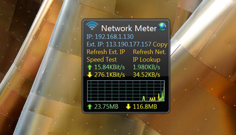 wired netbook meter
