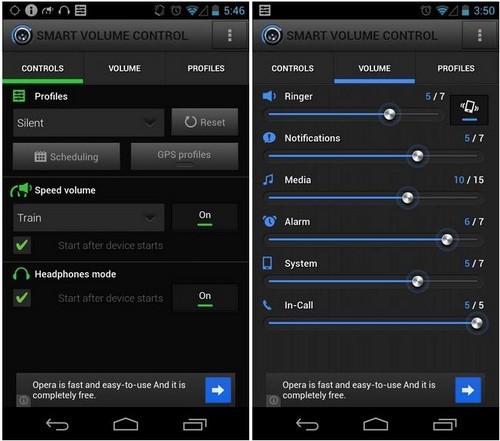 Smart Volume Control, android, phone, ringer, automation, tự động, âm lượng, điều chỉnh, im lặng, silent, vibrate
