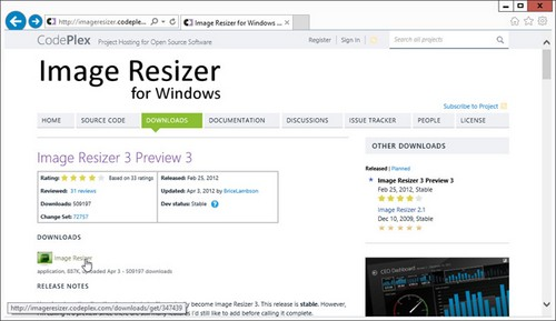 image, resize, windows 8, tips, tricks, software, width, height, data, remove, replace