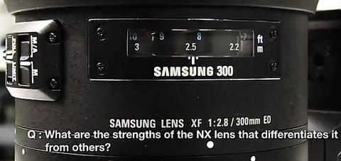 samsuung, lens 300 mm